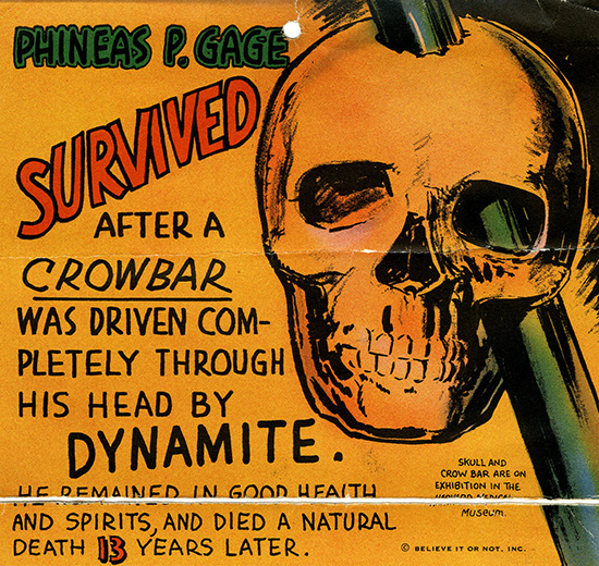 The Improbable Tale of Phineas Gage