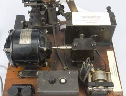 The First EEG Machine